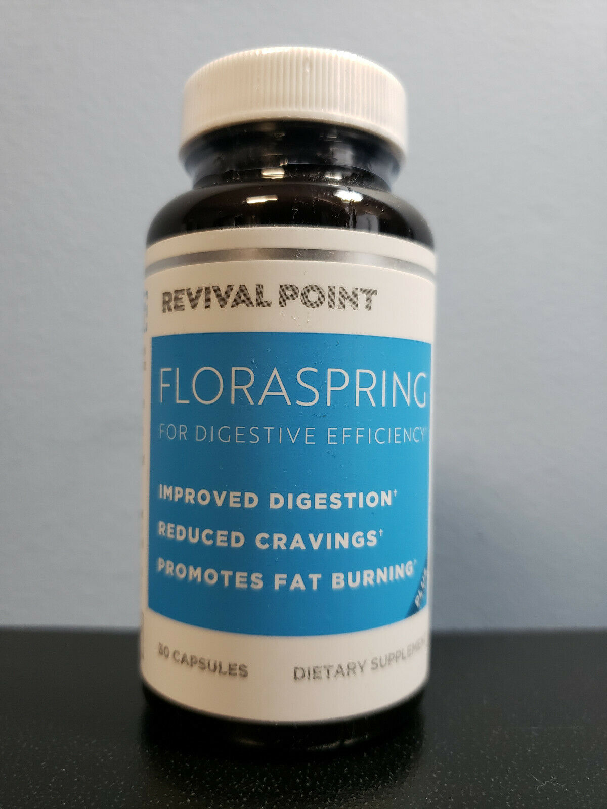 Revival Point Floraspring for Digestive Efficiency 30 Capsules - New! Exp 2/2022