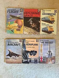 Bulk Set 6 Ladybird Retro Vintage Children Plane Non Fiction Book Scoresby Knox Area Preview