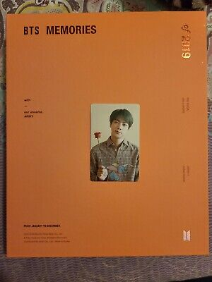 BTS Memories of 2019 Official DVD With JIN PC (US Seller) + FREE GIFTS