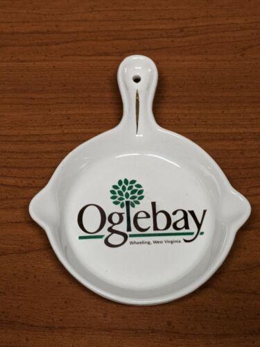 Vintage Oglebay Ceramic Ashtray Souvenir Wheeling West Virginia WV