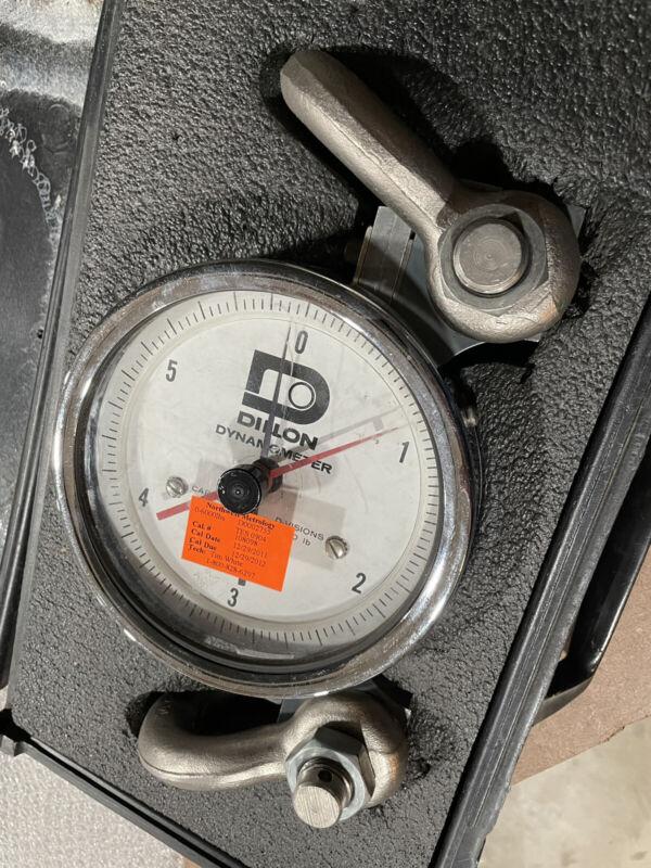 Dillon Dynamometer AP 6000 lbs!