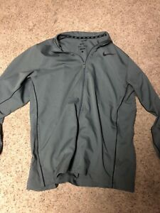 Nike grey Dri fit jacket