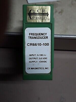 Cr Magnetics Frequency Transducer Cr6610-100