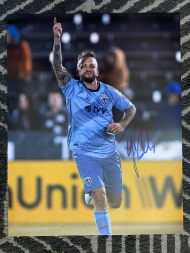 Sporting KC Johnny Russell Autographed Signed 11x14 Photo COA #2