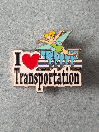 Disney Pins I HEART TRANSPORTATION Tinker Bell Cast Member Exclusive Loose