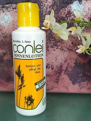 Freundliche Sonnenschutz (Sonnenlotion Sonnenschutz Sonnenmilch 200 ml Conlei LSF 6 - Hautfreundlich)