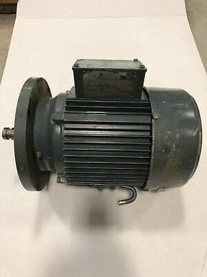 U.s. Electrical Motors Electric Motor 5 Hp 3-phase 208 V 3450 Rpm Used.