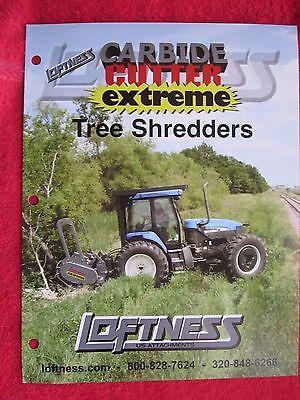 Loftness Carbide Cutter Extreme Tree Shredders Brochure