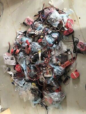Rc Plane Electric Job Lot .xt 60 Wires Plugs Ect