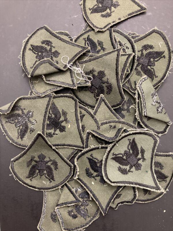 Vietnam War Era US Army Specialist Rank Patch Subdued PAIR (2) Jungle