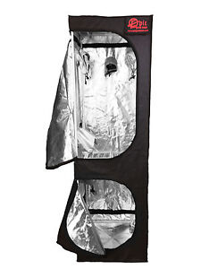 Epic Hydroponics Grow Tent Twin Two 2 Tier Mother Plant Cuttings 60x60x200cm