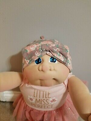 Soft sculpture cabbage patch little people Kid