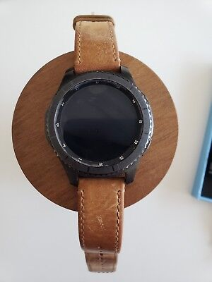 Samsung Galaxy Gear S3 Frontier with Three Bands and Original Packaging, used for sale  Shipping to Canada
