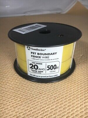 Southwire-500-ft-20-awg-solid-copper-boundary-wire-upc 032886911361 Model