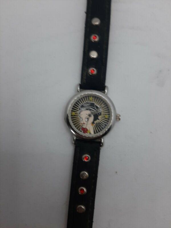 womens betty boop wrist watch