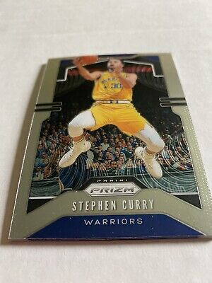 Stephen Curry 2019/20 Prizm Golden State Warriors Card # 98