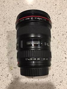 Canon EF 17-40mm f/4.0 L USM Lens Carlton Melbourne City Preview