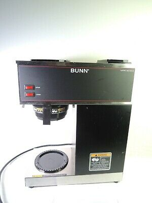 Bunn Vpr Series 33200.0001 Commercial 12 Cup Coffee Maker Black Parts Or Repair