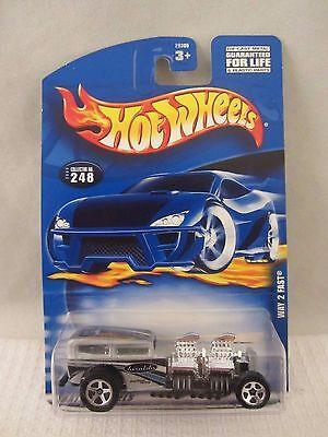 Hot Wheels  2000-248  Way 2 Fast  Silver  NOC  1:64 scale  (517+)  29305