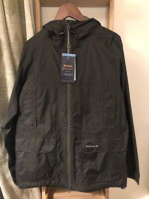 BNWT Barbour National Trust Spittles Waterproof Jacket Raincoat Sage Medium M