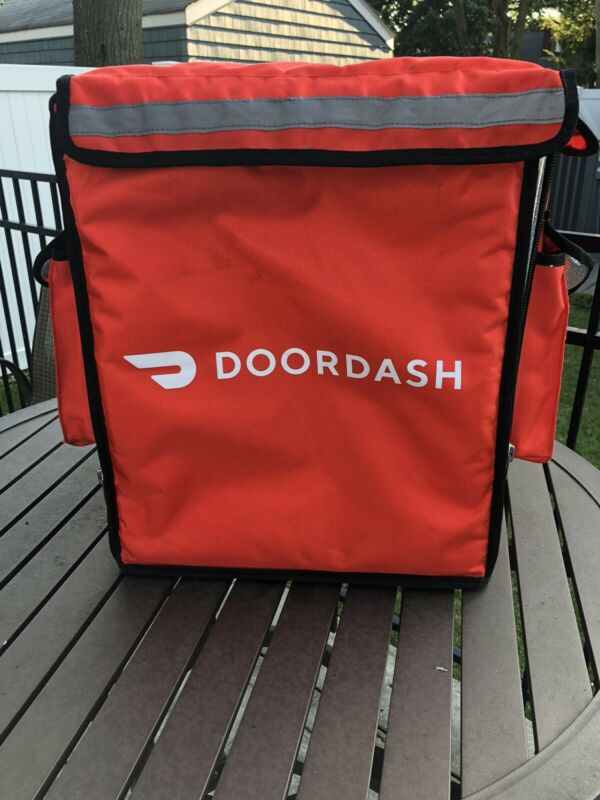 DOORDASH - Insulated Courier Food bag - Reflective Strips