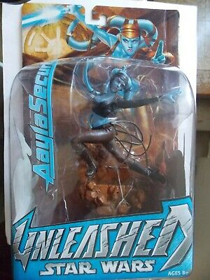 Star Wars Unleashed Aayla Secura Figure Unopened