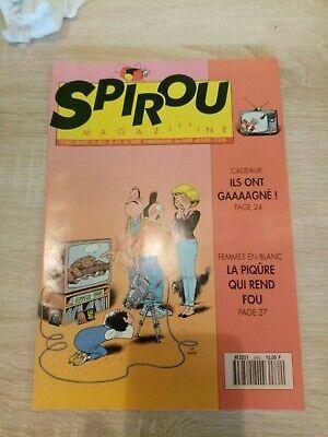 Journal Spirou n° 2862 de 1993 avec l'encart publicitaire