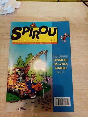 Journal Spirou n° 2864 de 1993 avec l'encart publicitaire