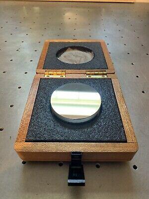Davidson Optronics 3 Optical Flat Mirror 0.000004 Flatness