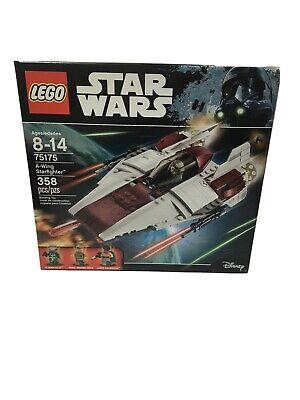 LEGO Star Wars 75175 A-WING STARFIGHTER - Lando Calrissian - Brand New Sealed