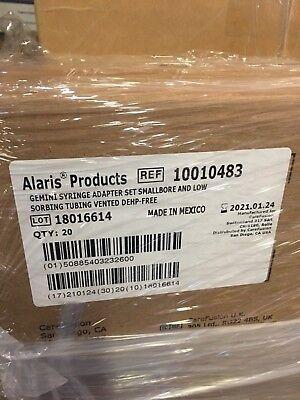 Alaris Ref 10010483 Pump Module Set Includes Syringe Adapter Dehp-freevented