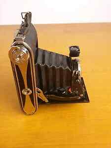Vintage AGFA fold out billy record camera with original leather c Alexandria Inner Sydney Preview