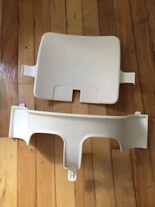 Baby set pour chaise haute Stokke Tripp Trapp blanc