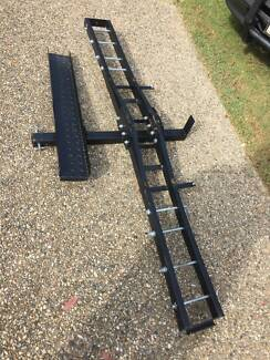 Scooter carrier for Tow Bar. I now have a motorbike