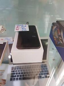 APPLE IPHONE 7 AS NEW FLAT BLACK WITH BOX & WARRANTY Toukley Wyong Area Preview