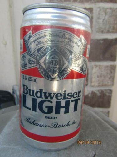 1981 Budweiser BUD LIGHT Promotional Can First Edition + 2 Vintage Bud Cans
