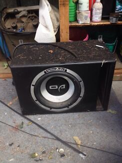Option audio 1500w sub Frankston Frankston Area Preview