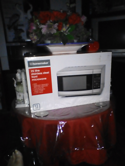 Beand new stainless steel microwave
