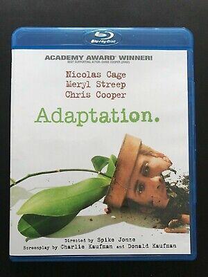 Adaptation Blu Ray 2012 Rare OOP