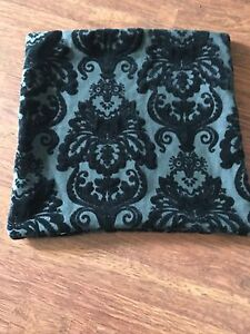 Black and charcoal NEW pillow cover