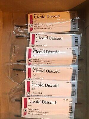 Cleoid Discoid 12 Henry Schein Brand Set Of 6