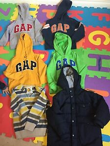 Boys gap huddies,winter jacket and sweater