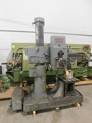 American Hole Wizard 4 X 9 Radial Arm Drill