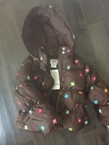 Puffer coat - girls 3T-4T   New with tags