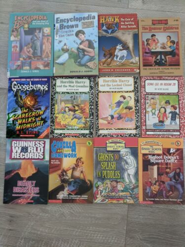 Scholastic Mystery Books Lot of 12 Books Reading Level 2- 3 - 4