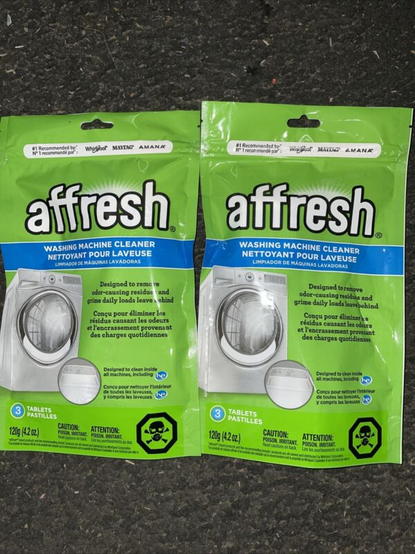 Affresh Washer Cleaner Tablet for Residue/Odor/Mildew 6 Tablets