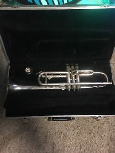 Trumpet professional plated  Bach name brand