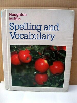 - Spelling and Vocabulary - Text - Book - Grade 2 - Elementary - Houghton - Miffli