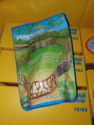 Playmobil 6656 Zoo / Safari / Wildlife / Farm Fencing Clearance Bargain New