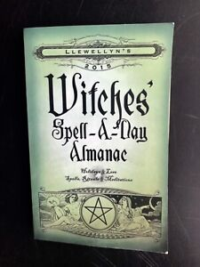 Llewellyn's 2015 Witches Spell-A-Day Almanac Book. $6.00